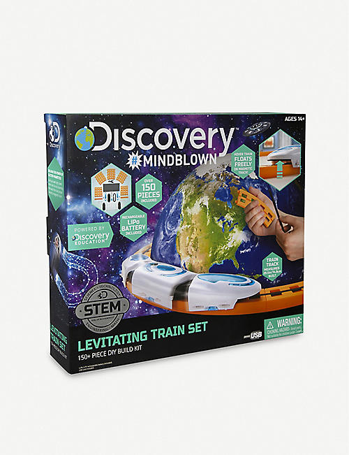 FAO SCHWARZ DISCOVERY Do It Yourself Magnetic Levitation train kit