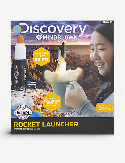 FAO SCHWARZ DISCOVERY: Scientist's Rocket Kit