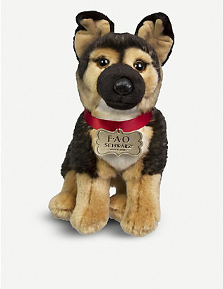 FAO PLUSH: German Shepherd plush toy 25cm