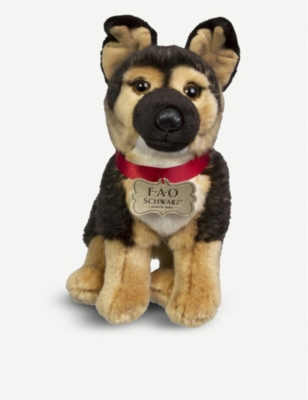 PLUSH German Shepherd plush toy 25cm