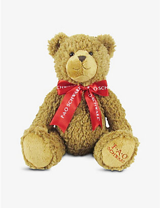 FAO PLUSH: Teddy bear soft toy 30cm