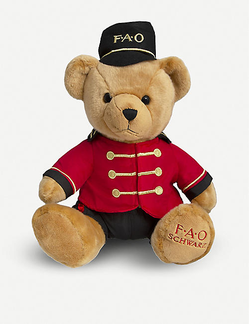 FAO PLUSH: Bear Soldier plush toy 38cm