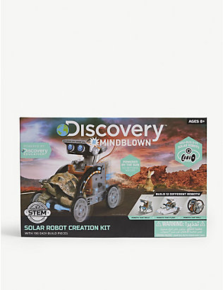 FAO SCHWARZ DISCOVERY: Solar robot creation kit
