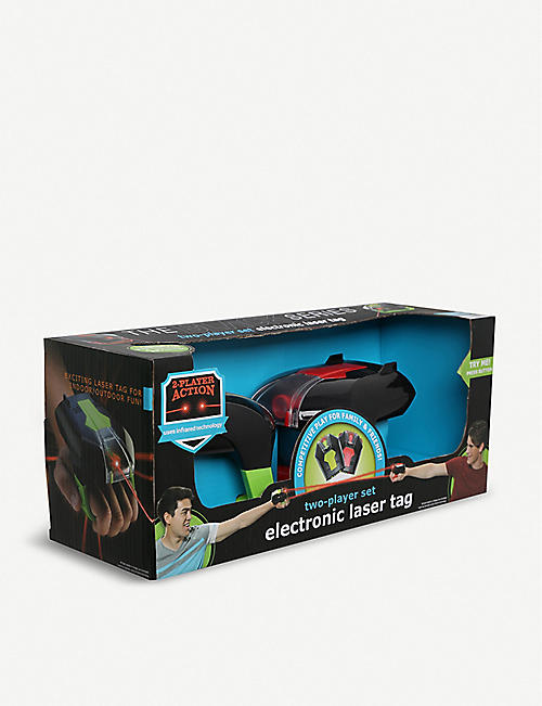 FAO SCHWARZ SHARPER IMAGE: Laser tag 2 player set