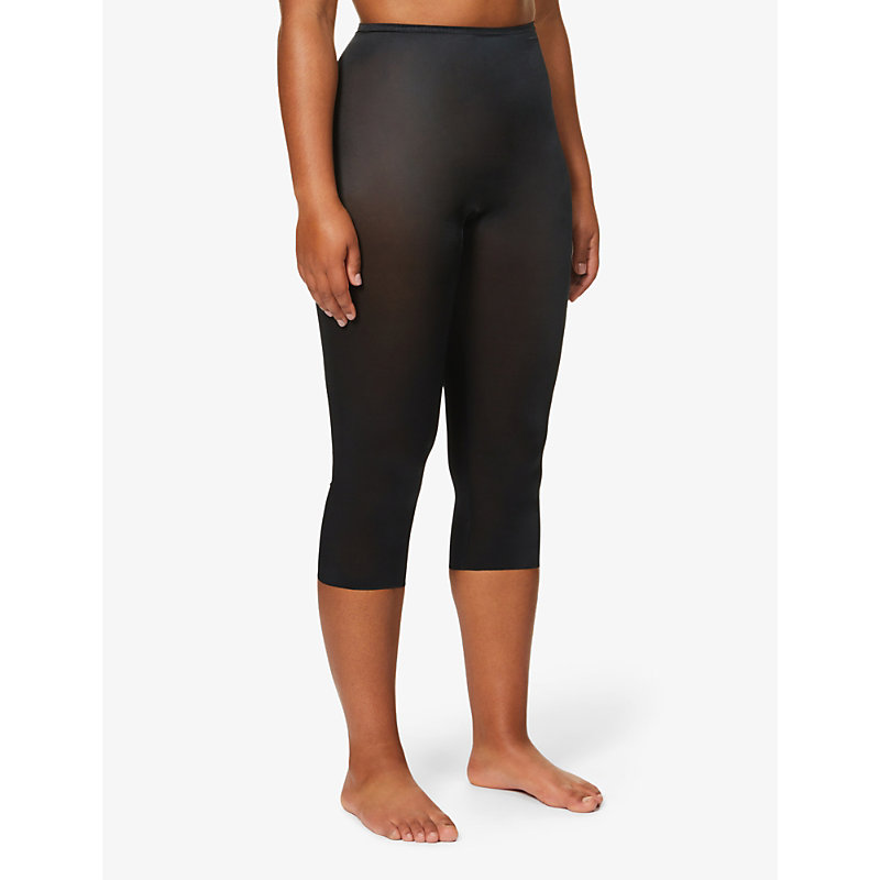 SPANX | Skinny Britches Mesh Leggings | Goxip