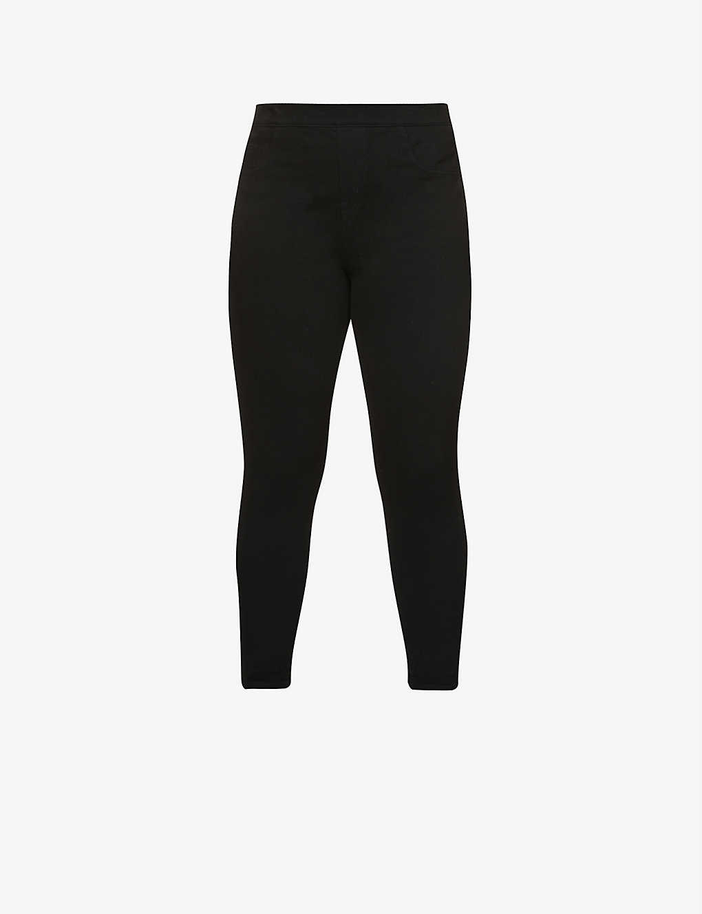 fad6aeef3c SPANX - Jean-ish cotton-blend leggings | Selfridges.com