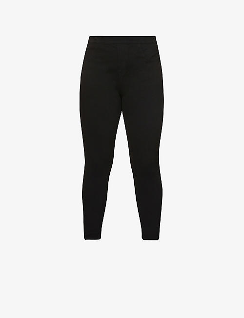 fcf31560bedf SPANX Jean-ish cotton-blend leggings