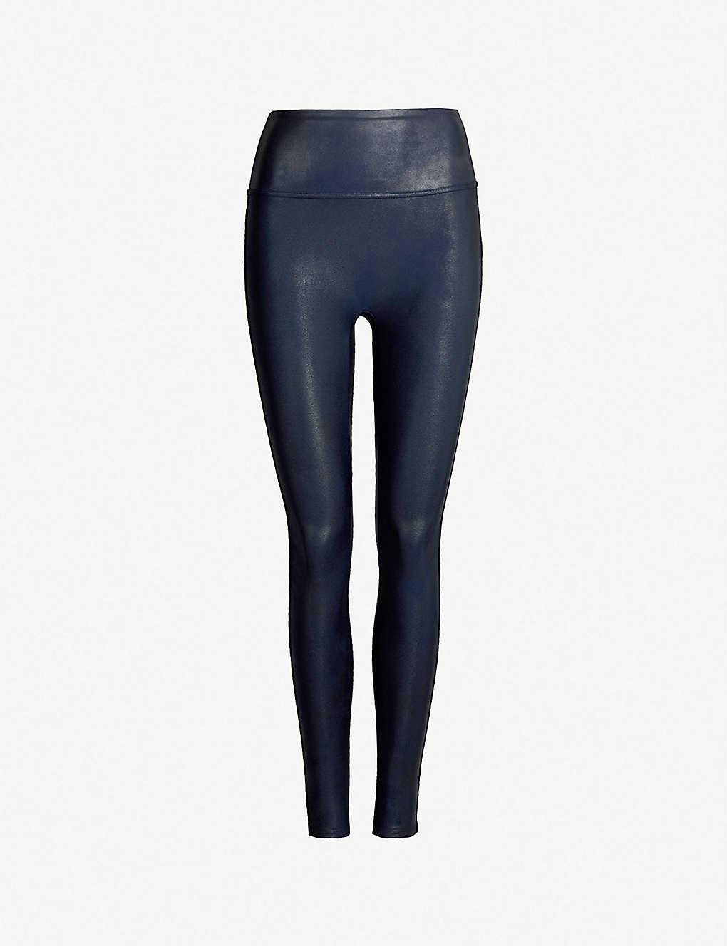 f3962961b41a96 SPANX - High-rise faux-leather leggings   Selfridges.com