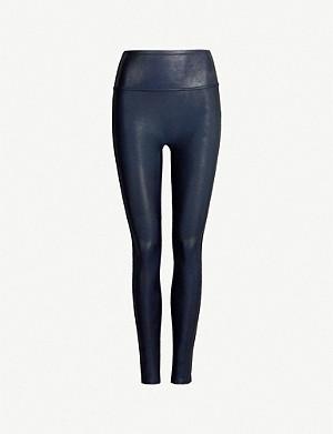 59da41c829e720 SPANX - Moto faux-leather leggings | Selfridges.com