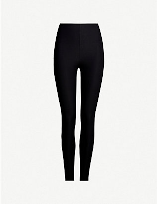 COMMANDO: Control stretch-jersey leggings