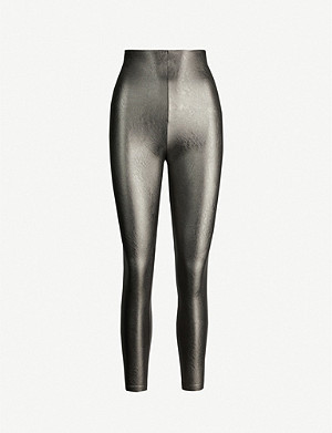 COMMANDO Faux-leather leggings
