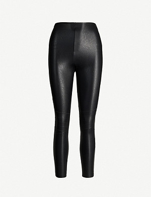 COMMANDO Moto faux-leather leggings