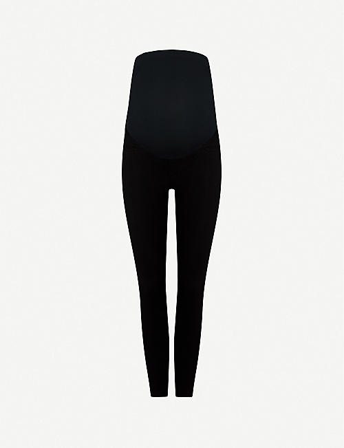 SPANX: Mama Ankle Jean-ish high-rise stretch-jersey maternity leggings