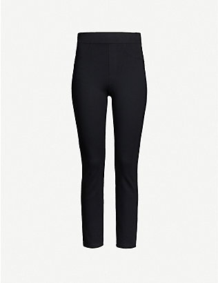 SPANX: 4-Pocket high-rise skinny stretch-ponté trousers