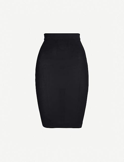 WOLFORD: Individual Nature stretch-forming mini skirt