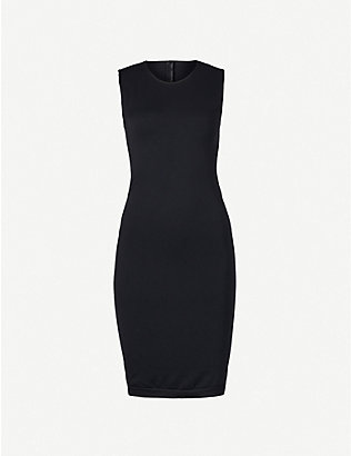 WOLFORD: Bilbao sleeveless stretch-cotton dress