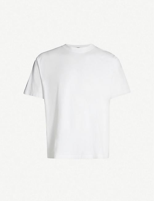 d0141d924 BALENCIAGA Droopy logo-print cotton T-shirt