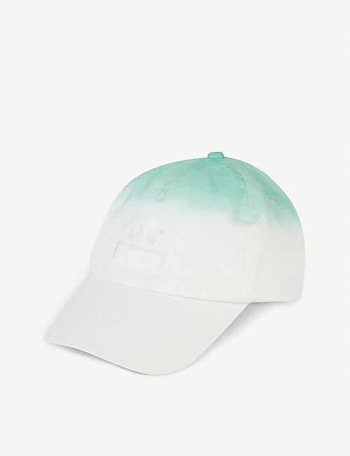 DANIEL ARSHAM Gradient cotton baseball cap