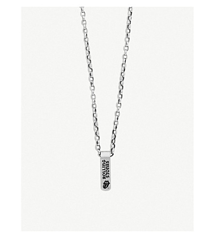 JADE JAGGER The Rolling Stones X  Banner Necklace in Silver