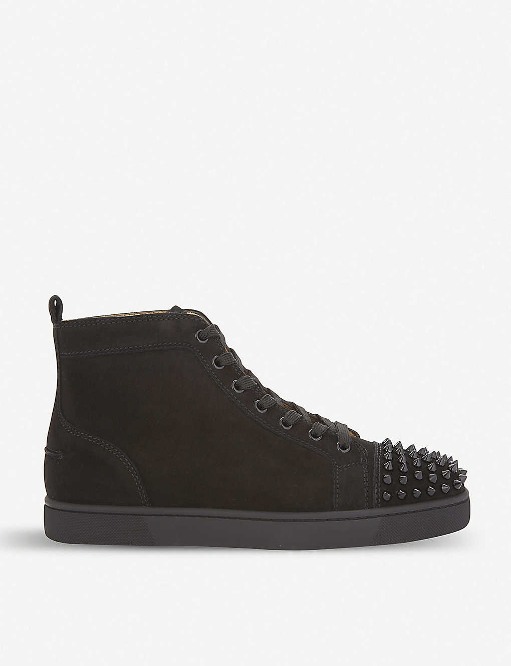 5d5a75c5ca5 CHRISTIAN LOUBOUTIN - Louis spikes flat suede