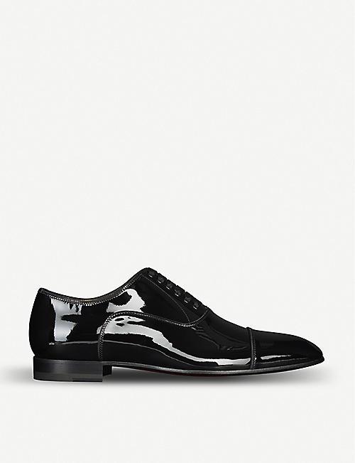 separation shoes ead7d f1a50 CHRISTIAN LOUBOUTIN - Greggo flat patent   Selfridges.com