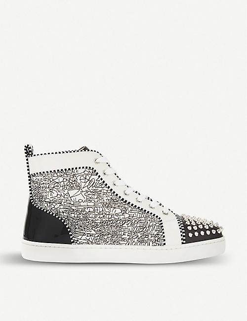 379dc362fcb0 CHRISTIAN LOUBOUTIN - High tops - Trainers - Shoes - Mens ...