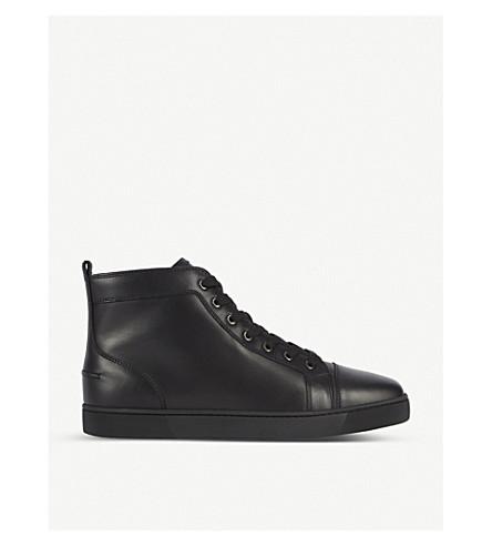 f06cf7a39661 CHRISTIAN LOUBOUTIN Louis flat calf (Black black