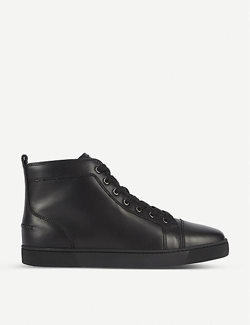 christian louboutin glitter sneakers uk
