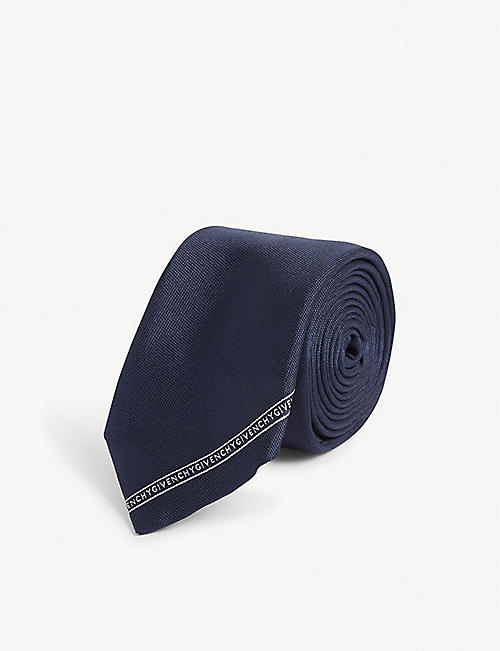 GIVENCHY Diagonal stripe tie