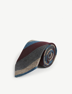BIGI CRAVATTE Striped tie