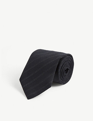 DRIES VAN NOTEN Striped tie
