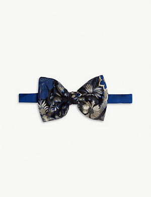 DRIES VAN NOTEN Silk jacquard bowtie