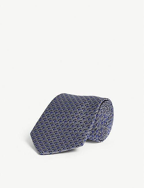 f38f7997562 LANVIN - Ties - Accessories - Mens - Selfridges | Shop Online