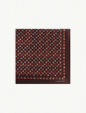 bc4ee8b8481f9 LANVIN - Silk pocket square | Selfridges.com