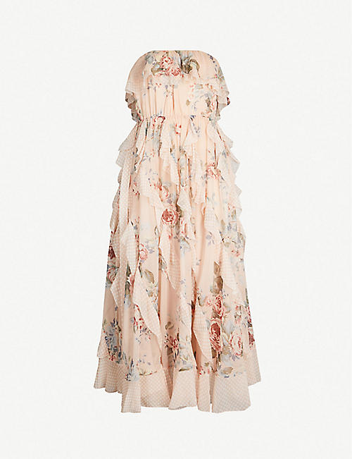 802c693f2cb9 ZIMMERMANN Bowie silk crepe dress