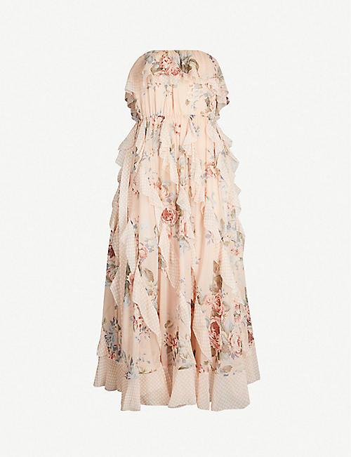 ec72eee60532 ZIMMERMANN Bowie silk crepe dress