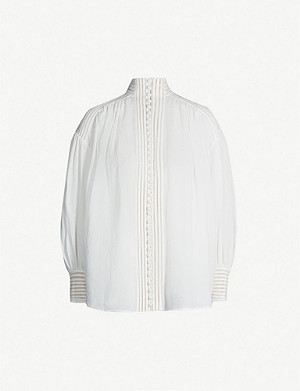 ZIMMERMANN Corsage linear blouse