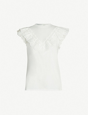 ZIMMERMANN Wayfarer cotton-jersey T-shirt
