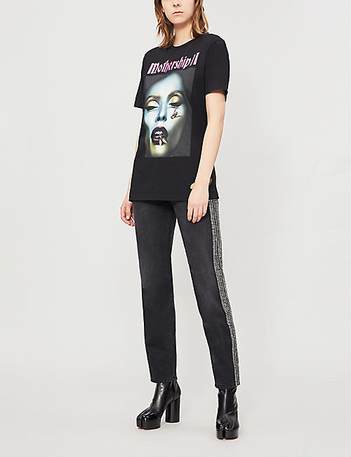 PAT MCGRATH LABS Mothership II printed cotton-jersey T-shirt