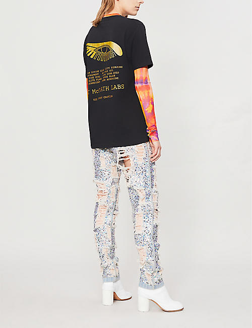 PAT MCGRATH LABS Mothership V printed cotton-jersey T-shirt