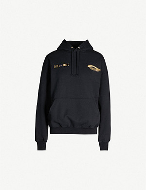 PAT MCGRATH LABS Logo-print cotton-jersey hoody