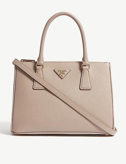 7f8dc4087c5641 PRADA - Saffiano leather tote   Selfridges.com