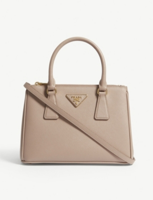 PRADA Galleria mini leather tote