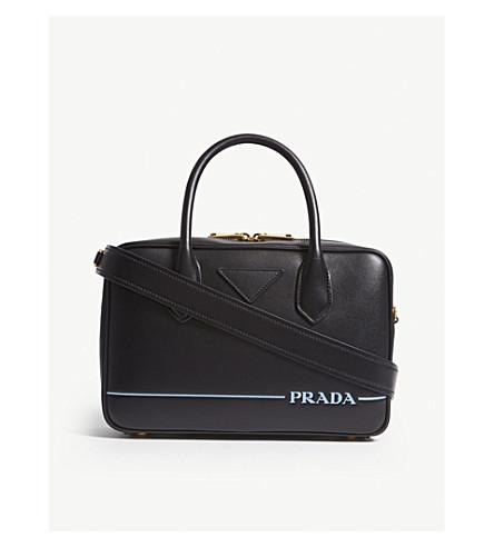 05ffba25b6d5 ... release date prada leather bowling bag black d8be9 49bdd