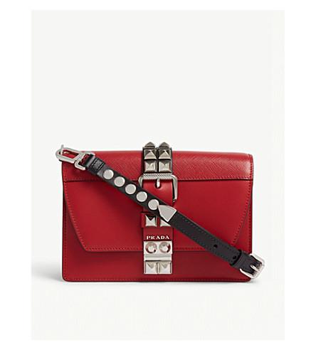 5f65a1de7a9a PRADA - Elektra small leather shoulder bag | Selfridges.com