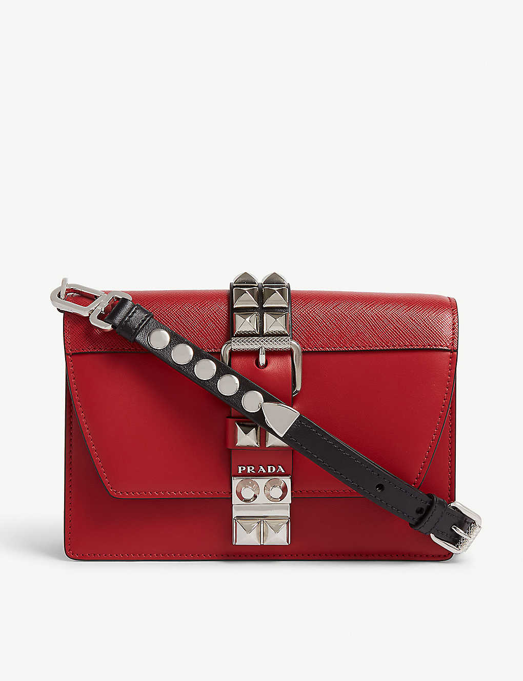 668616717c6e PRADA - Elektra small leather shoulder bag | Selfridges.com