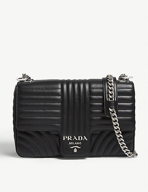c61af5b297c3 PRADA - Medium quilted leather shoulder bag