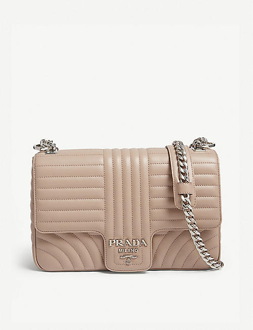 be4221ae201a PRADA Quilted shoulder bag