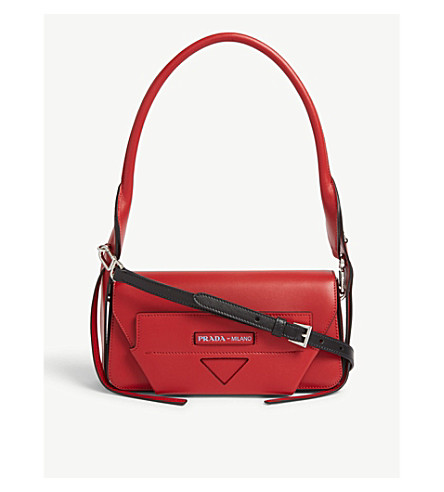9750d4bb9302 PRADA - Leather handbag   Selfridges.com