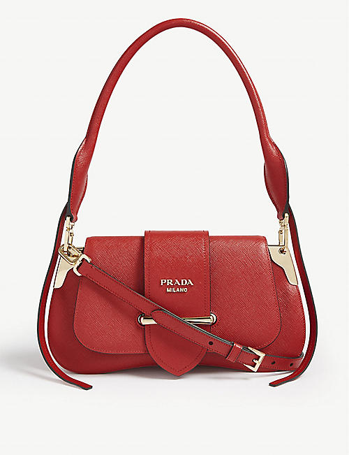PRADA Sidney saddle bag